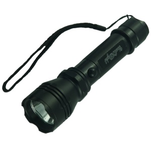 YK6201 Aluminum Alloy Portable Rechargeable Indoor Outdoor LED Flashlight 3-Mode - US Plug