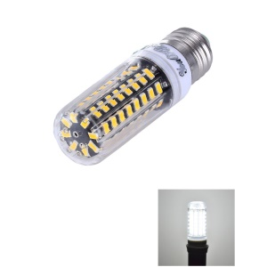 10W E27 SMD 5733 72-LED Dimmable Corn Light with Cover - Cool White