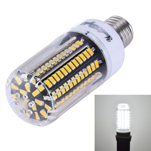 15W E27 SMD 5733 138-LED Dimmable Corn Light with Cover - Cool White