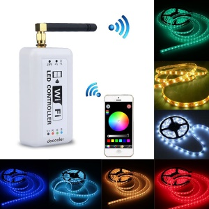 Wireless Wifi RGB LED Strip Controller for iOS / Android Smartphones (GL-KGQ-WIFI-3)