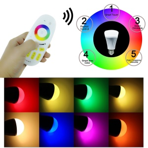 Wireless Phone APP WiFi LED Controller for 2.4GHz RGB RGBW RGBWW LED Lights