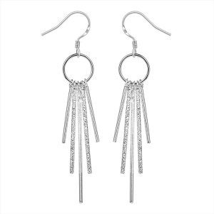 Romantic Tassel Design Hook Dangle Earrings