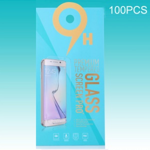 Customizable 100Pcs Paper Retail Package Box for Tempered Glass Screen Protector - Blue