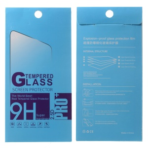 100Pcs/Set Tempered Glass Screen Film Paper Packaging Box for iPhone 6s Plus, Size: 175 x 85mm - Blue