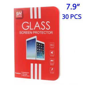 30Pcs/Set Book Style Packing Box for iPad mini 4 Tempered Glass Screen Guard, Size: 217 x 140mm