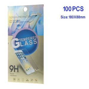 100Pcs/Lot Retail Paper Package Box for Samsung Galaxy Note 7 N930 Tempered Glass Protector Flm - Gold