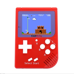 2.5 Inch LCD Display Handheld Game Player Mini 8 Bit Video Game Console - Red