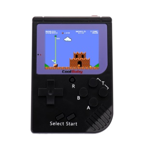 2.5 Inch LCD Display 8 Bit Game Player Mini Handheld Video Game Console - Black