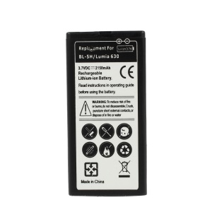 BL-5H 2150mAh 3.7V Rechargeable Lithium-ion Battery for Nokia Lumia 630 / 630 Dual SIM RM-978