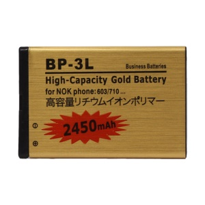 BP-3L Battery for Nokia 603 / Asha 303 / Lumia 710 / Lumia 610 2450mAh, high capacity
