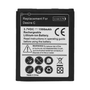 BL01100 Battery Replacement for HTC Desire C A320e 1500mAh