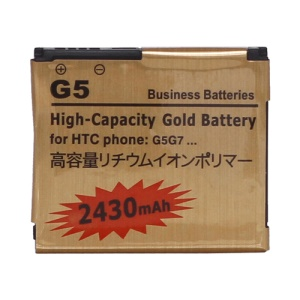 Battery Replacement for HTC Desire A8181 G5 / Google Nexus One G7 2430mAh, high capacity