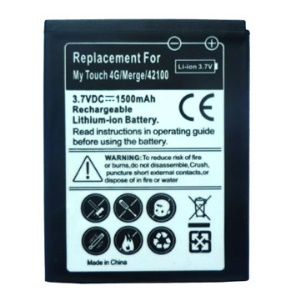 1500mAh Mobile Phone Battery for T-Mobile myTouch 4G / For HTC Merge