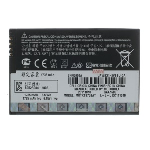 OEM 1735mAh Li-ion HW4X Battery for Motorola MB865 ME865 XT550 XT553 XT788 MT788 XT865 XT875 XT928
