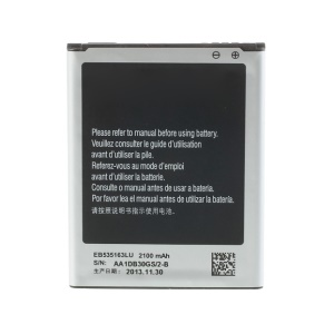 2100mAh 3.8V Battery EB535163LU for Samsung Galaxy Grand I9082 I9080 (OEM, Not Brand New)