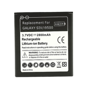 Battery Replacement for Samsung Galaxy S IV S4 i9500 i9505 2800mAh