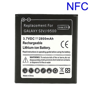 NFC Battery Replacement for Samsung Galaxy S IV S4 i9500, 2800mAh