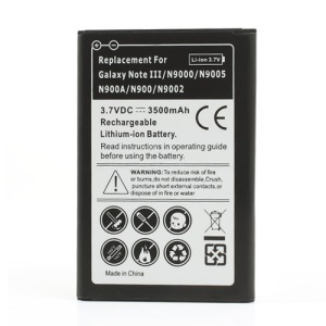 3500mAh Rechargeable Battery Replacement for Samsung Galaxy Note 3 N9005 N9000 N9002