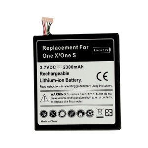 2300mAh Battery Replacement for HTC One S Z520e / One X / S720e / G23