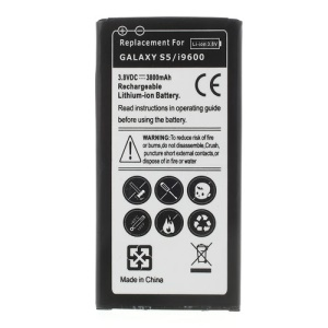 3800mAh Rechargeable Li-ion Battery for Samsung Galaxy S5 G900