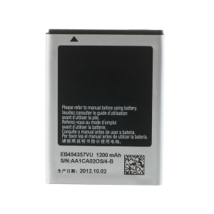OEM 1200mAh 3.7V Battery EB454357VU for Samsung Galaxy Y S5360 Wave Y S5380 S5380D B5510 S5300 S5368 I509