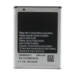 Li-ion Battery Replacement 1500mAh 3.7V EB484659VU for Samsung S5820 I677 I8150 S5690 S8600 W689 M930 T759