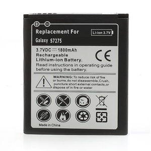1800mAh Rechargeable Li-ion Battery for Samsung Galaxy Ace 3 S7275