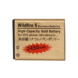 Battery Replacement for HTC Wildfire S A510E G13 2450mAh, high capacity