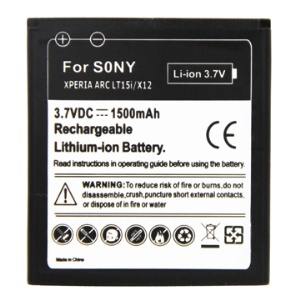 BA750 Li-ion Battery Replacement for Sony Ericsson Xperia Arc X12 / Xperia Arc S LT18i
