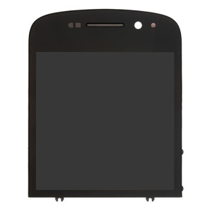 BlackBerry Q10 LCD Assembly with Touch Screen Digitizer Replacement Part - Black