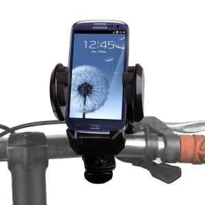 Universal Bike Bicycle Handlebar Mount Holder Stand para iPhone Samsung HTC e etc