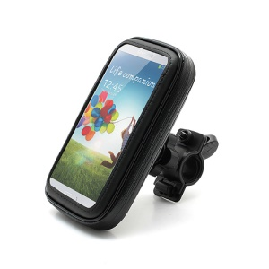 Waterproof Bicycle Bike Handlebar Case Holder for Samsung Galaxy S4 i9500 S3 i9300, Size: 14 x 7.5cm