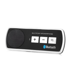 Portable Car Handfree Bluetooth com alto-falante multiponto