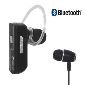 Noise Free Voice Dialing Bluetooth V3.0 Stere Headset Earphone WK-100, Come with Handsfree