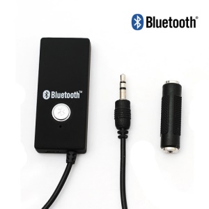 Portable Bluetooth Audio Dongle Receiver for iPhone iPad Bluetooth Cell Phone TV Etc - Black