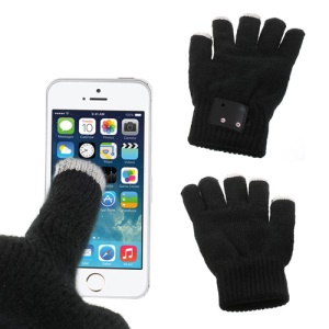 Hi-Call Bluetooth Magic Talking Gloves Built-in Speaker & Mic + Touch Function