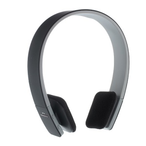 On-ear Sports Bluetooth Headphone with AUX Play Function (BQ-618) - Black