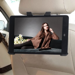 Black Car Seat Headrest Backrest Mount Holder for iPad Mini / iPad Mini 2