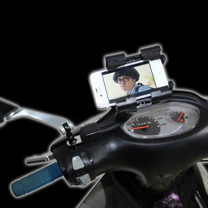 Universal Motorcycle Holder Mount for iPhone / Smartphones / GPS / MP4 / PDA etc
