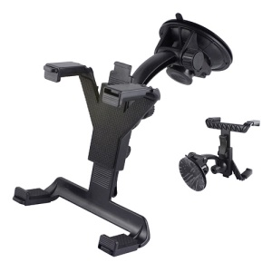 360 Degree Rotating Car kit Mount Holder Stand Cradle for iPad GPS DVD TV, Length: 105mm~195mm
