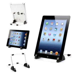 Detachable Metal Stand Holder for iPad / Samsung Galaxy Tab / 7-10 inch Tablet PC
