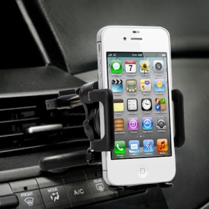 Carro Air Vent Mount Holder Mount Cradle para iPhone 5 4S 4