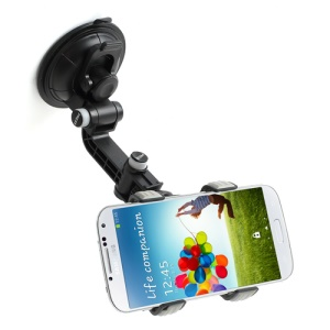 Choyo Detachable Double Clip Car Holder for iPhone 5 4 Samsung I9500 GPS PDA