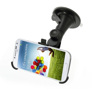 Car Windshield Mount Holder Stand Accessory for Samsung Galaxy S IV 4 i9500 i9505