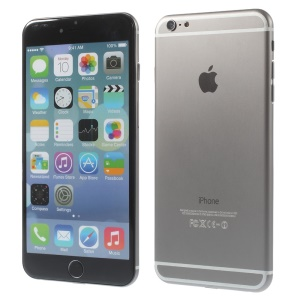 Fake Dummy Display Aluminum Shell Model Phone for iPhone 6 Plus 5.5 inch - Grey