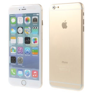 Non-working Dummy Display Aluminum Shell Fake Phone for iPhone 6 Plus 5.5 inch - Gold