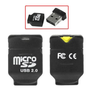 Mini Micro SD SDHC TF T-Flash USB Card Reader Adapter