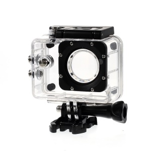 Underwater Waterproof Protective Housing Case w/ Mount Base for SJ4000 Camera