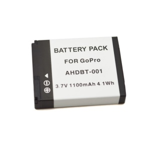 1100mAh AHDBT-001 Rechargeable Battery for Gopro Hero 2 / 1