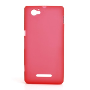 Red Double-side Matte TPU Shell for Sony Xperia M C1905 C1904 C2004 C2005